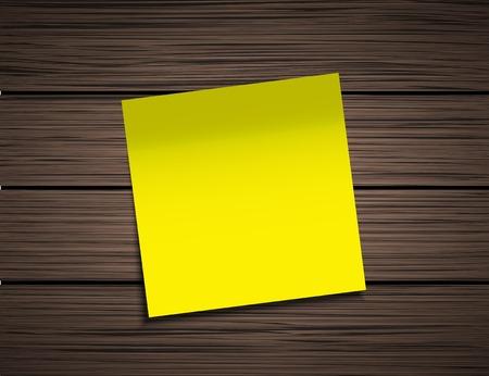 sticky note: Vector modern square sticky note Illustration