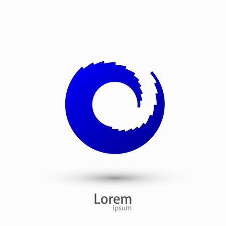 wasserwelle: Vektor modernen Wasserwelle Elementdesign Illustration