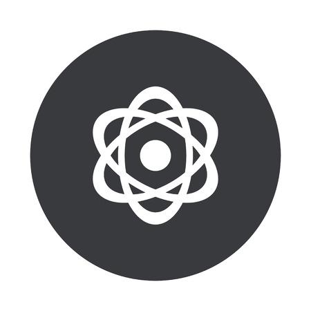 nuke: Vector modern  gray circle icon