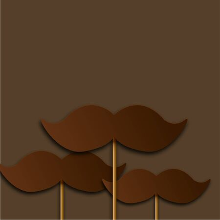 fathers day background: Vector modern fathers day background.