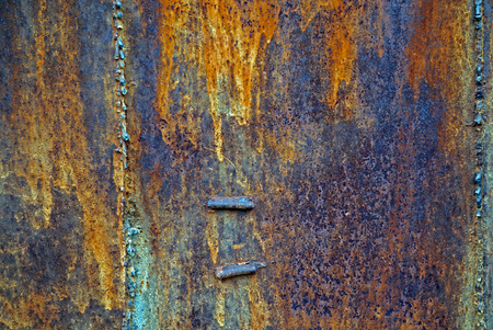 worn structure red: old rusty metal texture