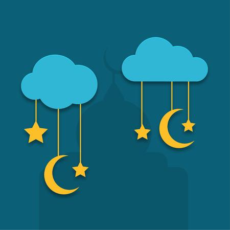 ramadan background: Vector modern ramadan background design.