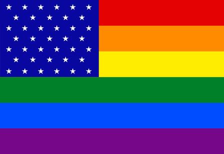 sex discrimination: Vector modern lgbt flag background. type of sexual minorities