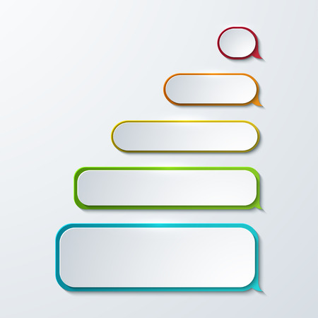 modern sms or message icons. Bubble speech set