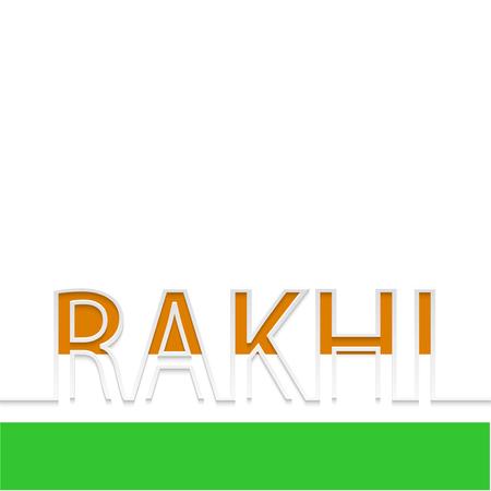 rakhi: Vector modern rakhi background. indian holiday.