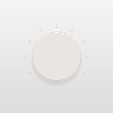 regulator: Vector modern light regulator or control icon background.