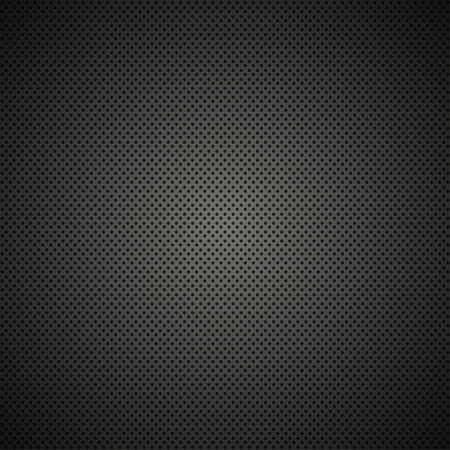 metal grid: Vector modern black metal grid texture background