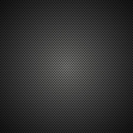 Vector modern black metal grid texture background