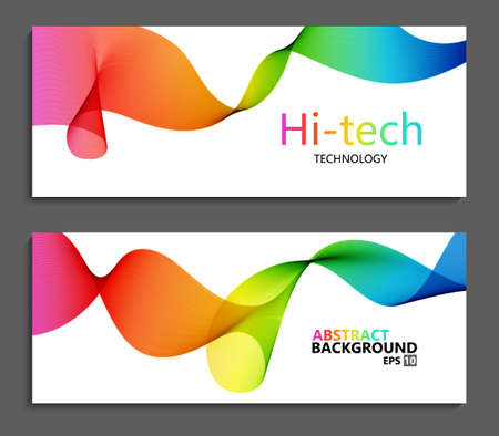 broshure: Vector modern colorful abstract backgrounds. Brochure template Illustration