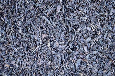 granulation: tea granules texture background close up image