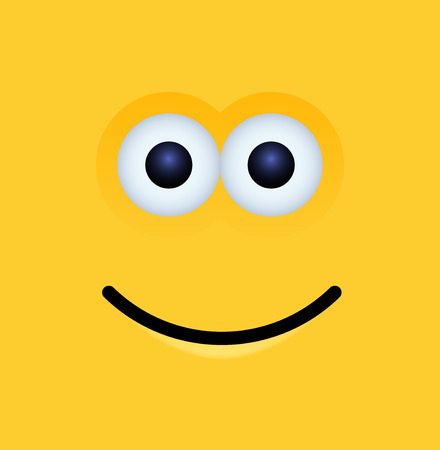 modern yellow face background.