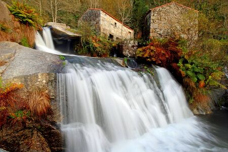 watermills: Waterfalls and ancient water mills