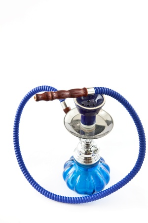 blue shisha photo