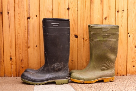 welly: Wellington Boots Stock Photo