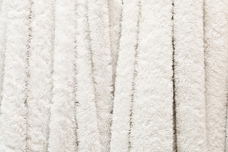 Background image of white towels hanging photo