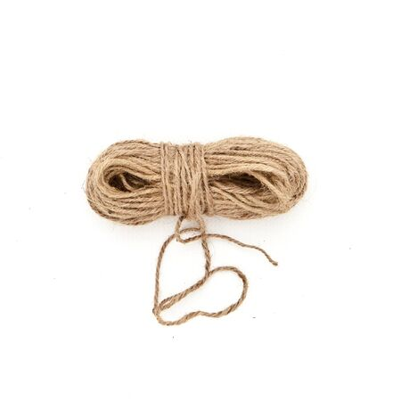 A ball of string on a white background Stock Photo - 15058983