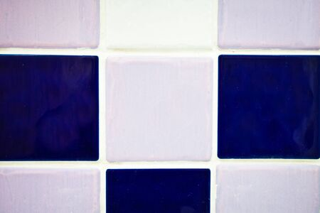 limescale: Close up of multicolored bathroom tiles as a background