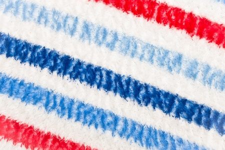 Colorful striped blanket as a textured background Stock Photo - 15636252