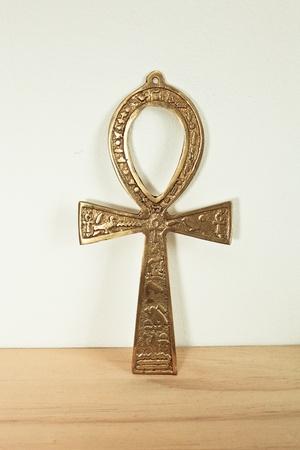 ankh cross: An ancient Egyptian symbol of life souvenir Stock Photo