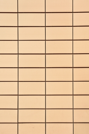 swanky: Modern yellow wall tiles as a background image Stock Photo