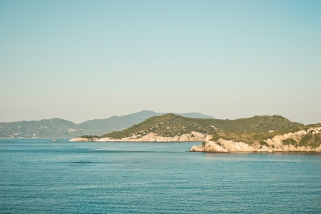 skiathos: Generic view of a Greek Island landscape- Skiathos and Skopelos
