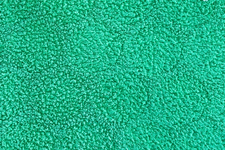 Green towel material as a detailed background image Stock Photo - 22526342