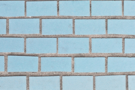 Rectangle blue tiles as a detailed background image photo