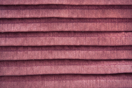 Close up of pleated pink cloth as a background Stock Photo - 22526423