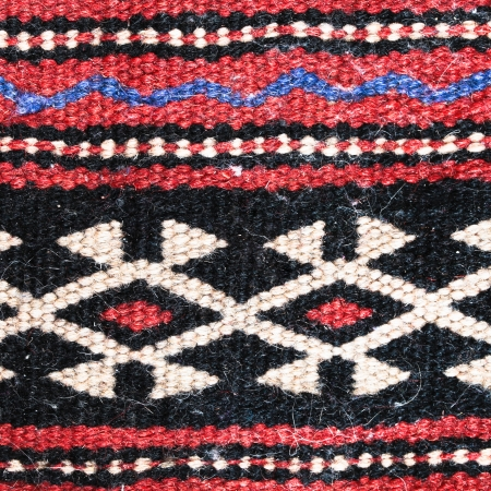 Close up of a generic pattern on a rug photo