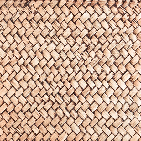 Close up of wicker as a detailed background photo