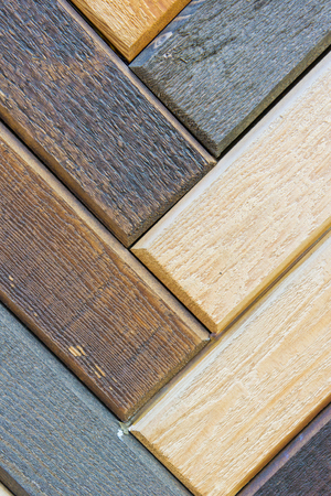 Wooden planks as a deatiled background pattern photo