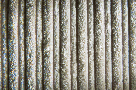 towelling: Beige fluffy textile as a background Stock Photo