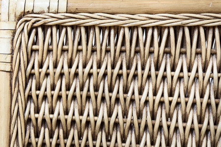 robust: Part of a rattan shair as a detailed background
