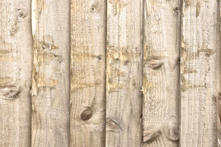 scuffed: Scuffed fence panels as a background Stock Photo