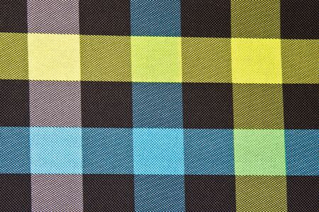 Close up of a checked pattern as a background image