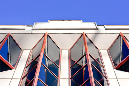 Part of an art deco building in the UK
