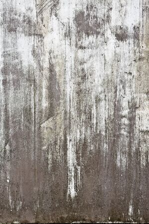 peeling paint: Peeling paint on a weathered metal surface as a background
