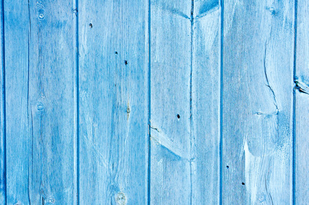 Weathred blue painted wood as a background Stock Photo