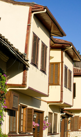 ottoman: Renovated traditional Ottoman houses in Turkey