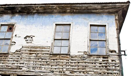 derelict: An old derelict ottoman style house