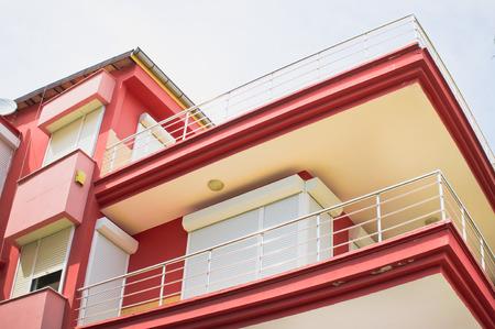 investment real state: Parte de un moderno edificio de apartamentos en Turqu�a