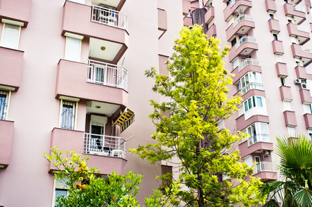 investment real state: Modern apartment buildings in Turkey