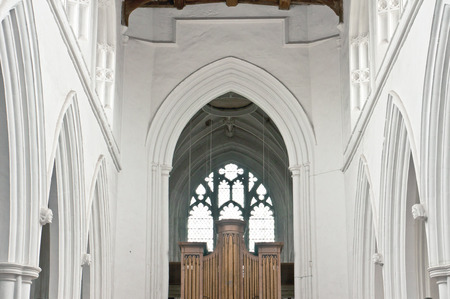 christendom: Inside of a church in the UK Editorial
