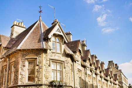 cotswold: Traditional Cotswold stone building in Cirencester, UK