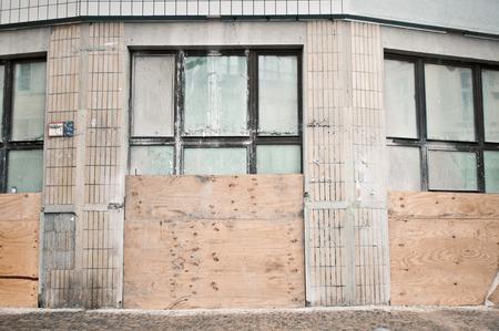 property berlin: Part of an urban building in Berlin undergoing renovations