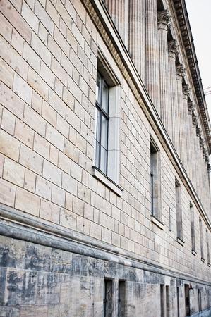 property berlin: Part of the Alte Nationalgalerie in Berlin Stock Photo