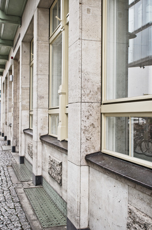 property berlin: Part of the exterior of a stone building in Germany