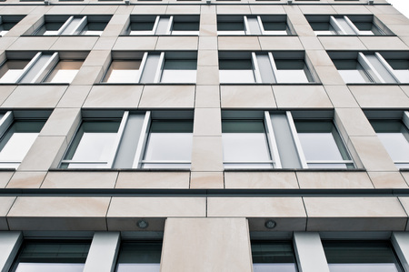 property berlin: Part of the exterior of a modern commercial building in Germany