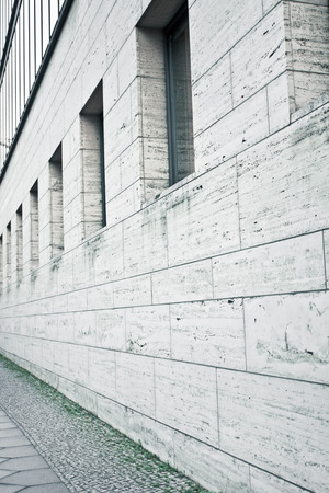 building external: The external wall of a building in Germany Stock Photo