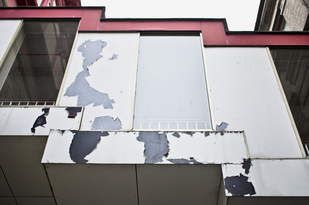 Part of a derelict building in the UK